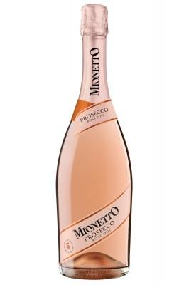 Mionetto Prosecco Rose Millesimato 0,75L, DOC, r2020, sum, ruz, exdry