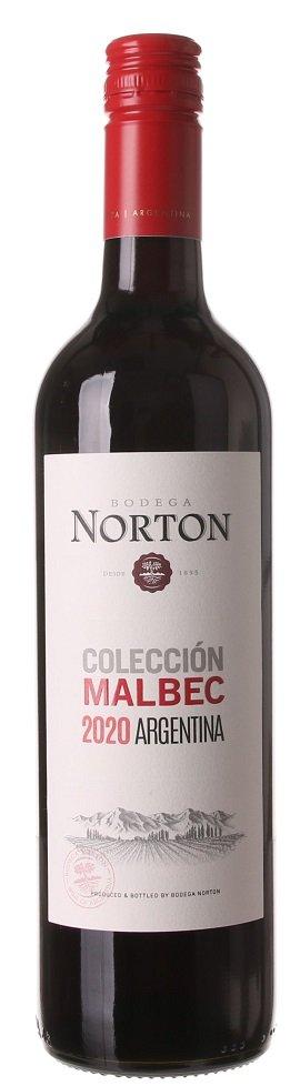 Norton Malbec Colección 0,75L, r2020, cr, su, sc