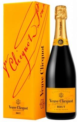 Veuve Clicquot Ponsardin Brut 0,75L, AOC, sam, bl, su, DB