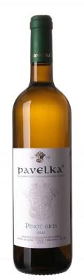 Pavelka Pinot Gris 0,75L, r2020, vzh, bl, su
