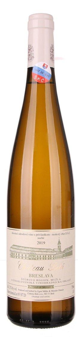 Château Belá Breslava 0,75L, r2019, nz, bl, su