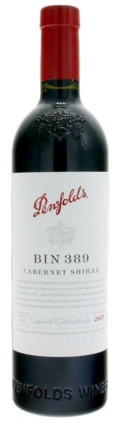 Penfolds BIN 389 Cabernet Shiraz 0,75L, r2017, cr, su
