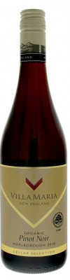 Villa Maria Cellar Selection Pinot Noir Organic 0,75L, r2018, cr, su