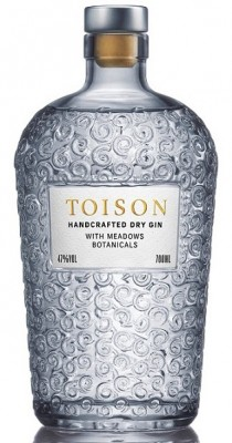 Toison Gin Handcrafted DRY GIN 47% 0,7L, gin