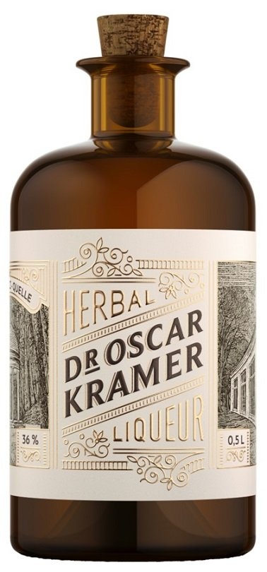 Dr. Kramer bylinný likér 36% 0,5L, liker