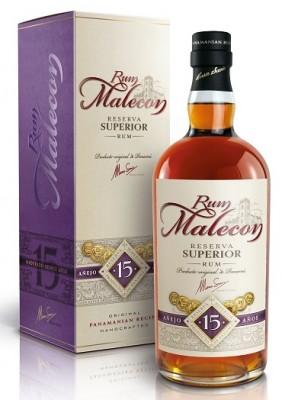 Malecon Reserva Superior 15YO 40% 0,7L, rum, DB