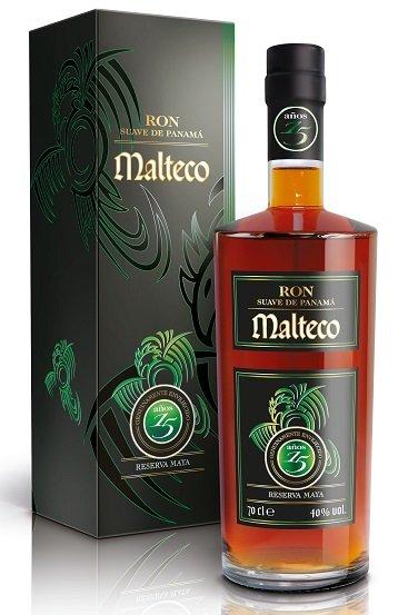 Malteco Reserva Maya Aňos 15YO  40 % 0,7L, rum, DB