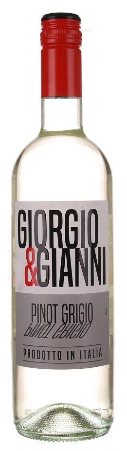 Giorgio & Gianni Pinot Grigio 0,75L, IGT, r2020, bl, su, sc