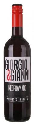 Giorgio & Gianni Negroamaro Salento 0,75L, IGT, r2020, cr, su, sc