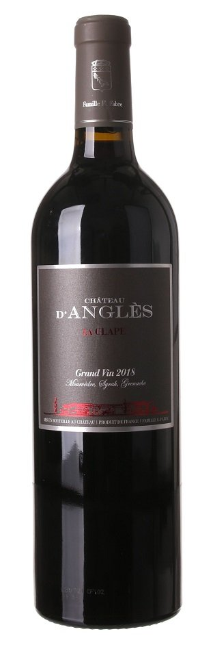 Château d'Angles Grand Vin Rouge La Clape 0,75L, AOC, r2018, cr, su