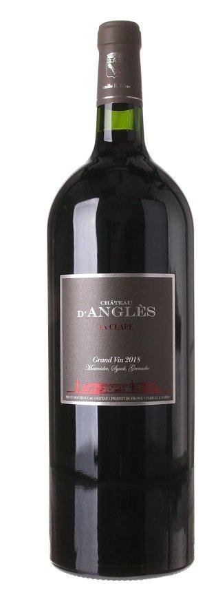 Château d'Angles Grand Vin Rouge La Clape 1,5L, AOC, r2018, cr, su