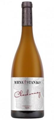 Mrva & Stanko Chardonnay, Kamenný Most 0,75L, r2020, nz, bl, su