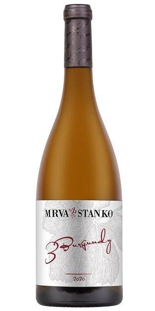 Mrva & Stanko 3 Burgundy 0,75L, r2020, ak, bl, su