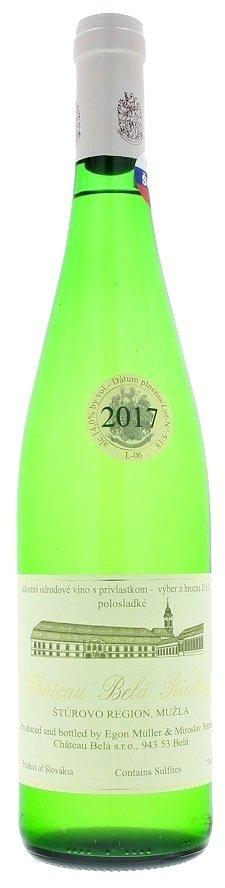 Château Belá Riesling  L06 0,75L, r2017, vzh, bl, plsl