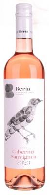 Berta Cabernet Sauvignon Rosé 0,75L, r2020, ak, ruz, su, sc