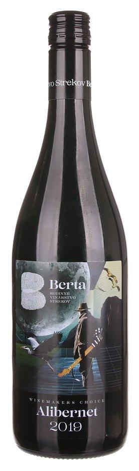 Berta Winemakers Choice Alibernet 0,75L, r2019, ak, cr, su, sc