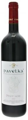 Pavelka Pinot Noir 0,75L, r2017, vzh, cr, su