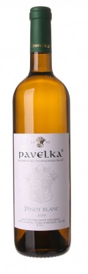 Pavelka Pinot blanc 0,75L, r2019, vzh, bl, su