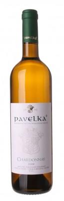 Pavelka Chardonnay 0,75L, r2020, vzh, bl, su