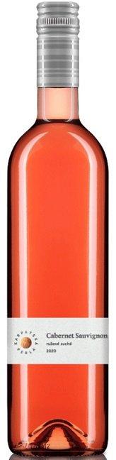Karpatská Perla Cabernet Sauvignon 0,75L, r2020, vin, ruz, su, sc