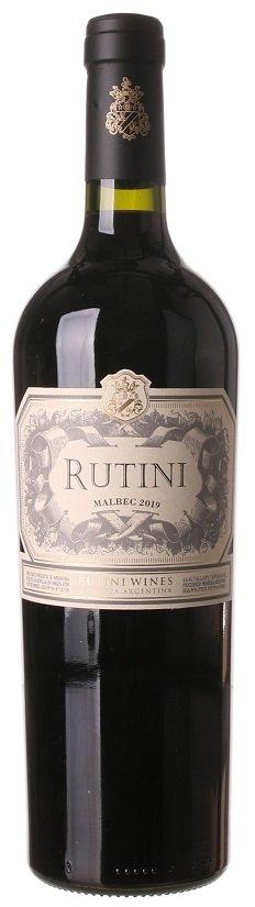 Rutini Colección Malbec 0,75L, r2019, cr, su