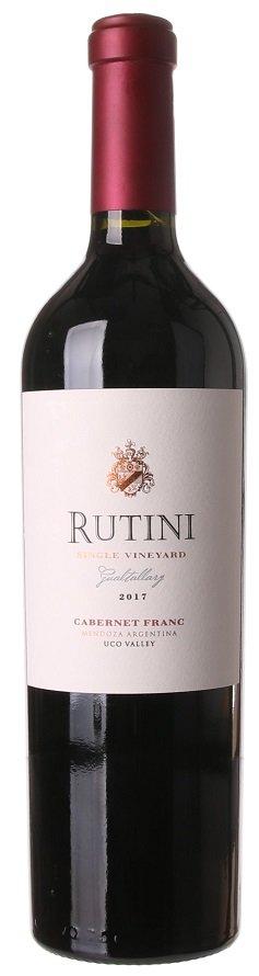 Rutini Single Vineyard Gualtallary Cabernet Franc 0,75L, r2017, cr, su