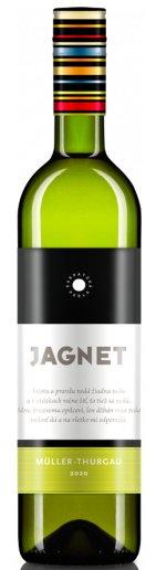 Karpatská Perla Jagnet Müller Thurgau 0,75L, r2020, vin, bl, su
