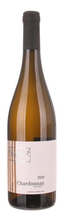 Kasnyik Chardonnay Battonage 0,75L, r2020, ak, bl, su