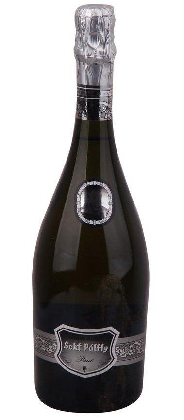 Víno Nitra Sekt Pálffy Brut 0,75L, skt, bl, brut