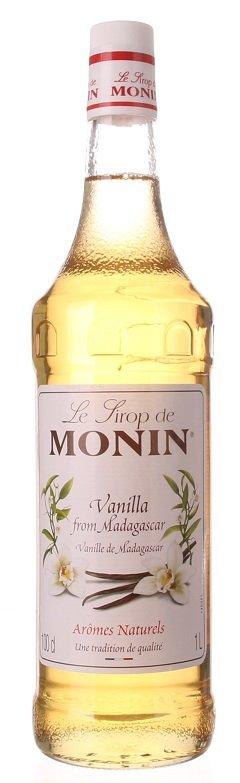 Monin Vanilla (vanilka) 1L, sirup