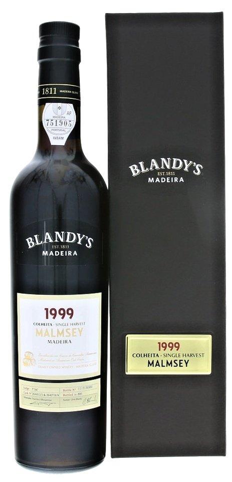 Blandy's Madeira Colheita Malmsey 0,5L, r1999, fortvin, bl, sl, DB