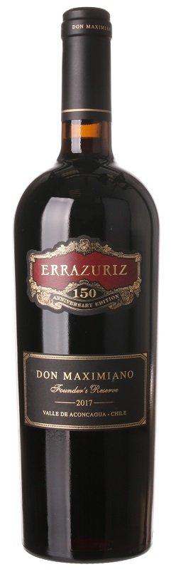 Errazuriz Don Maximiano Founder´s Reserve 0,75L, r2017, cr, su