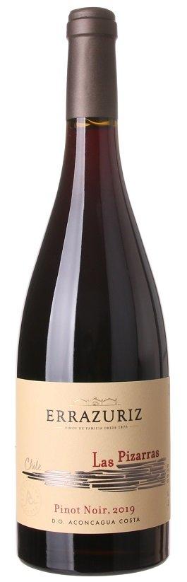 Errazuriz Las Pizarras Pinot Noir 0,75L, r2019, cr, su