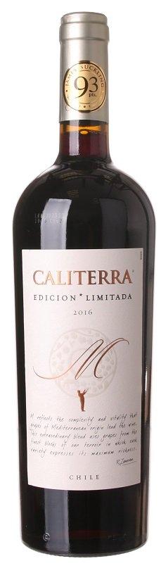 Caliterra Edicion Limitada M 0,75L, r2016, cr, su
