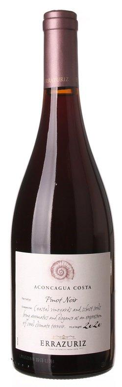 Errazuriz Pinot Noir  Aconcagua Costa 0,75L, r2020, cr, su
