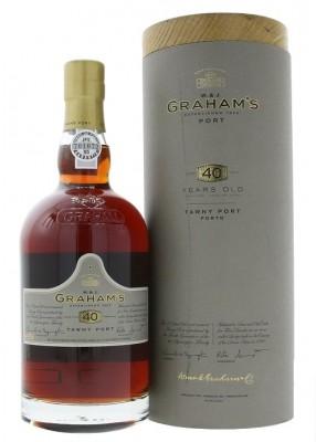 Graham's 40 Y.O. Tawny Port 0,75L, fortvin, cr, sl, DB