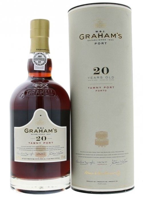 Graham's 20 Y.O. Tawny Port 0,75L, fortvin, cr, sl, DB