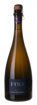 Frtus Winery Chardonnay 0,75L, r2019, skt trm, bl, brut