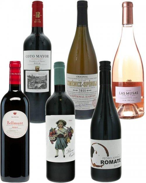 Balíček Španielske vína