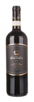 La Braccesca Vino Nobile di Montepulciano 0,75L, DOCG, r2018, cr, su