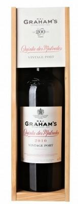 Graham's Quinta dos Malvedos Vintage Port 0,75L, r2010, fortvin, cr, sl, DB