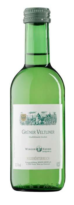 Winzer Krems Grüner Veltliner 0,25L, PDO, rNV, bl, su