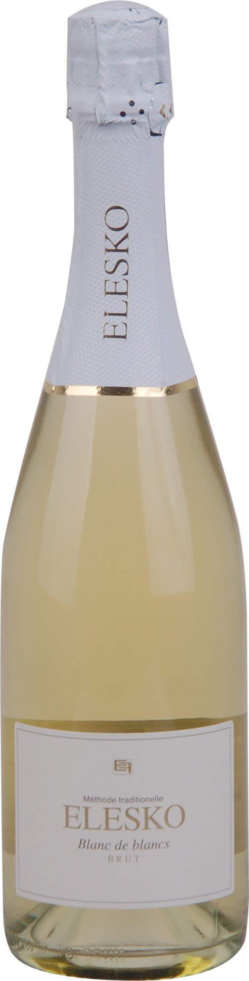 Elesko Sekt Blanc de Blancs Chardonnay 0,75L, skt trm, bl, brut