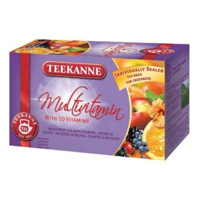 Teekanne Gastro Multivitamin 20 x 3 g,ovobylcaj