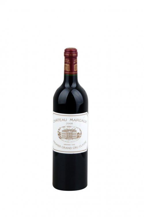 Bordeaux Château Margaux 0,75L, AOC, Premier Grand Cru Classé, r2008, cr, su