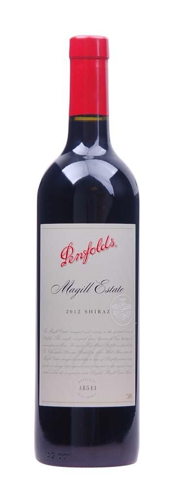 Penfolds Magill Estate Shiraz 0,75L, r2012, cr, su