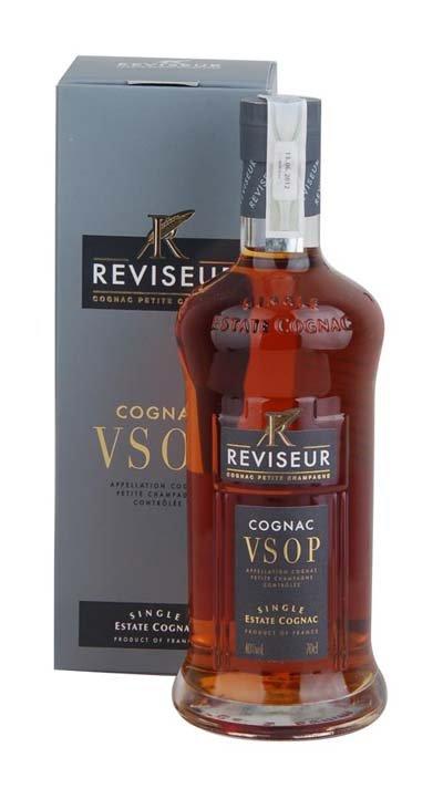 Reviseur Cognac VSOP 40% 0,7L, cognac, DB