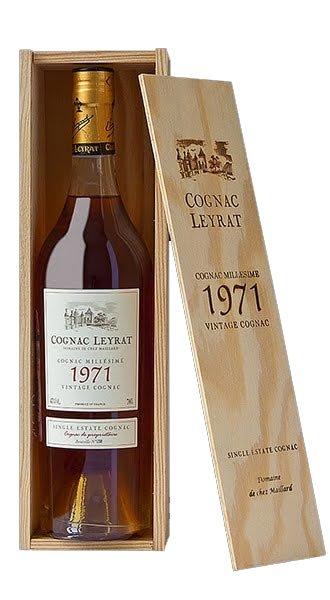 Leyrat Cognac 1971 43% 0,7L, cognac, DB