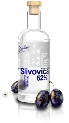 Fine Destillery Slovakia Slivovica Exclusive alk. 52% 0,5L, ovdest