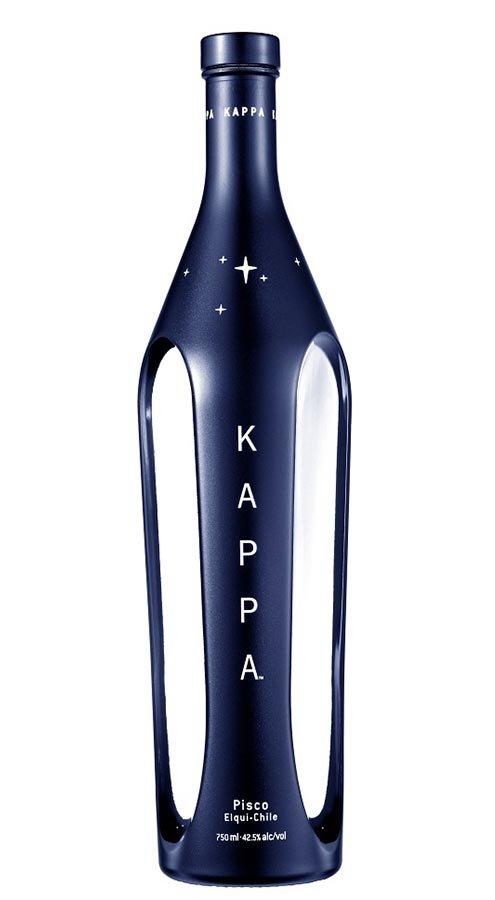 Kappa Pisco, double destilled 42,5% 0,7L, destin